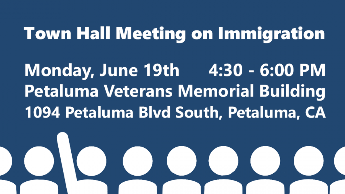 Join Congressman Thompson for a Town Hall Meeting on Immigration